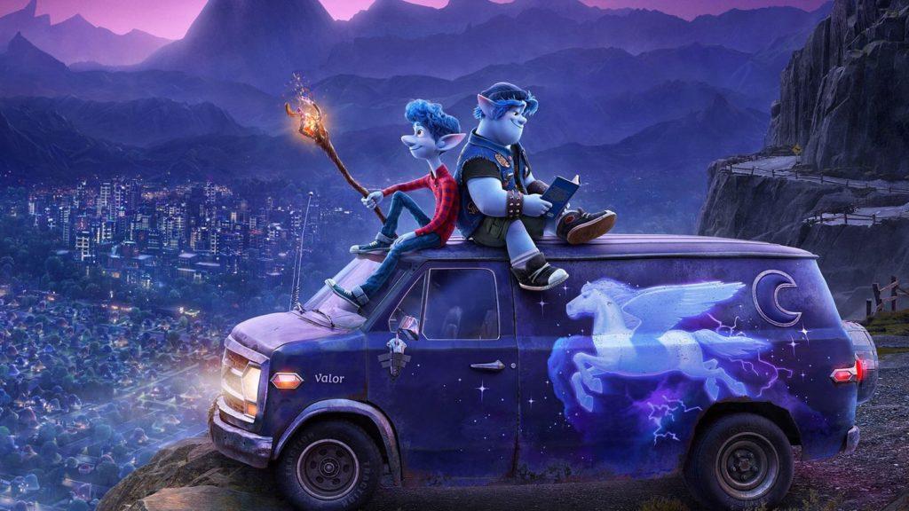 Naprzód - zwiastun. Pixar i urban-fantasy - to się może udać ...