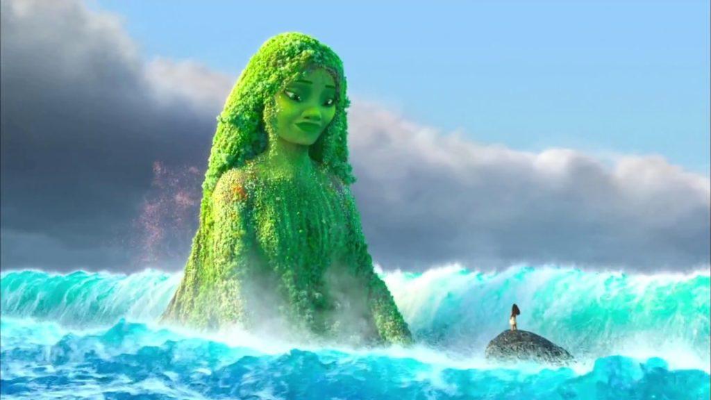 Restoring the Heart of Te Fiti - Moana Movie Scene - YouTube